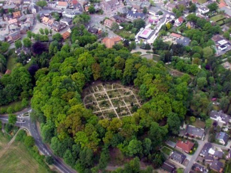 Bökelburg Luftaufnahme in Burg Dithmarschen