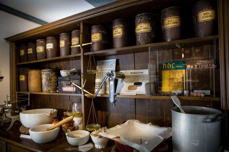 Burger Museum Apotheke in Burg Dithmarschen